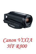 Canon vixia HFR 800 for gallery finished