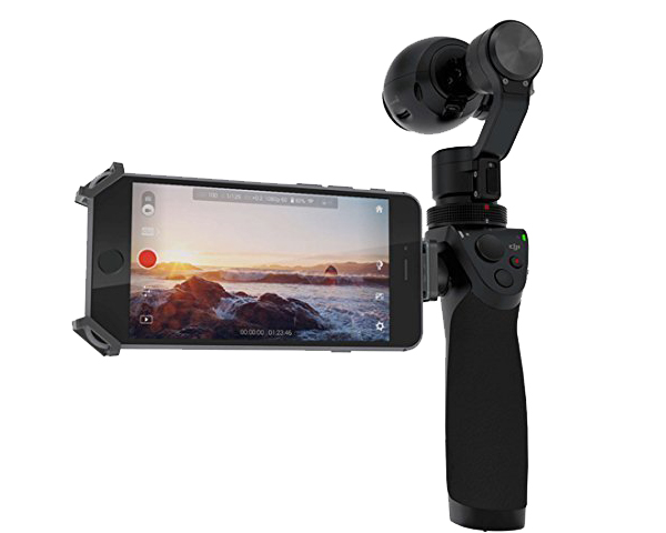 DJI OSMO Handheld 4K 12MP Gimbal Stabilizer Camera Review - Best