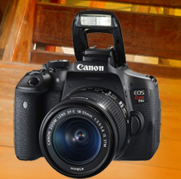Canon Eos Rebel T6i Digital Slr With Ef S 18 55mm Is Stm