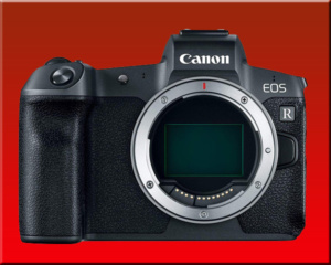 Canon EOS R finished