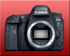 Canon eos 6d finished