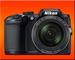 Nikon coolpix B500 finished