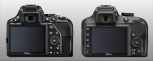 D3500 vs D3400 posterior view