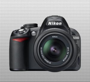 Nikon D3100 finished