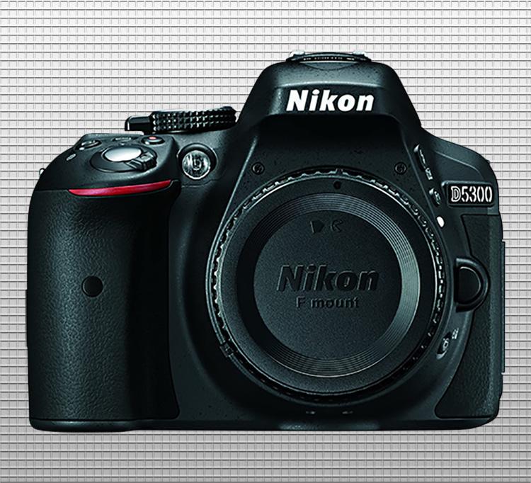 Nikon D5300 finished