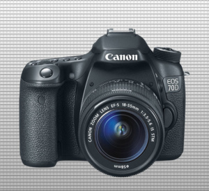 canon 70d finished